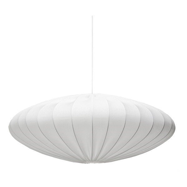 BUBBLE ECLIPSE WHITE FABRIC PENDANT 3 SIZES