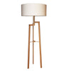 MANOR OAK WOOD FLOOR LAMP SET