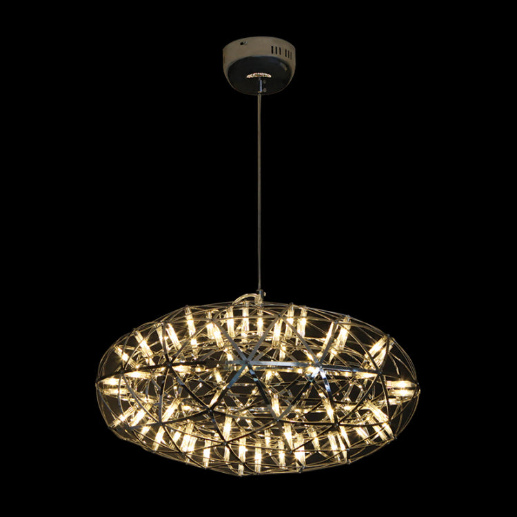 Tangle Stainless Steel LED Fuse Oval Pendant Light 2 Options - Lighting.co.za