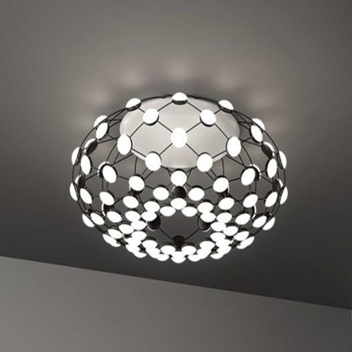 Button Black SMD LED Ceiling Light - Lighting.co.za