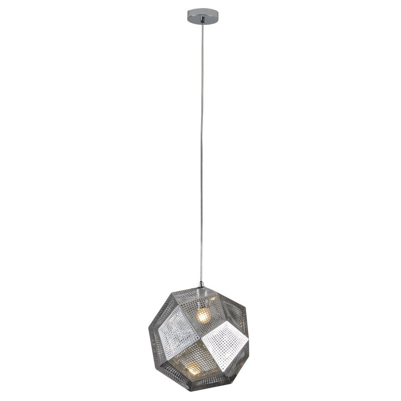 EATON STAINLESS STEEL ROUND PENDANT - Lighting.co.za