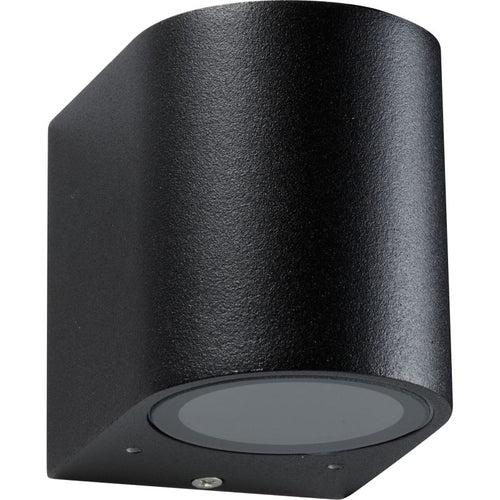 OLYMPIA GU10 ROUND DOWN ONLY OUTDOOR WALL LIGHT - Lighting.co.za