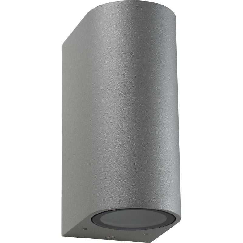 OLYMPIA GU10 ROUND UP DOWN OUTDOOR WALL LIGHT - Lighting.co.za