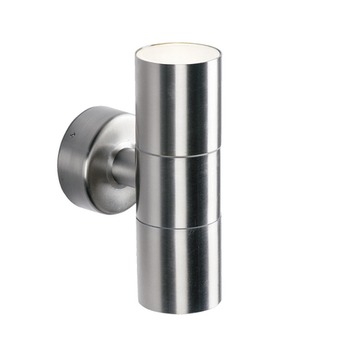 Olbia GU10 Up Down Stainless Steel Outdoor Wall Light - Lighting.co.za