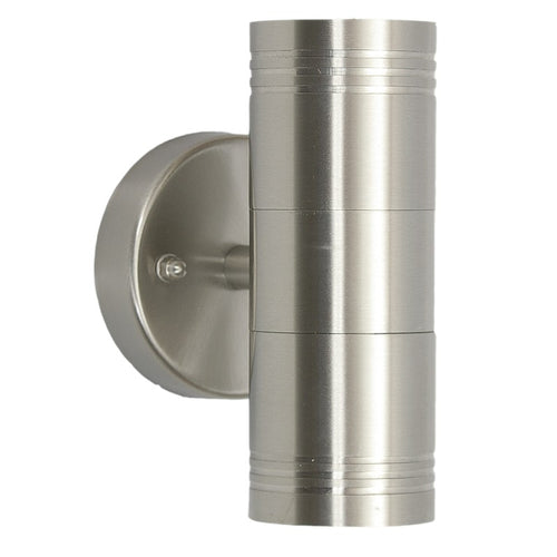Genoa Stainless Steel GU10 Up Down Outdoor Wall Light - Lighting.co.za