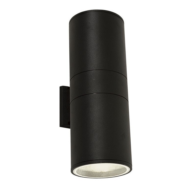 Maxen Large Black Up Down Outdoor Wall Light - Lighting.co.za