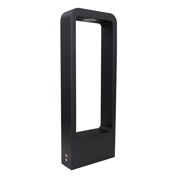 Frame Black 7 Watt LED Rectangular Bollard Light - Lighting.co.za
