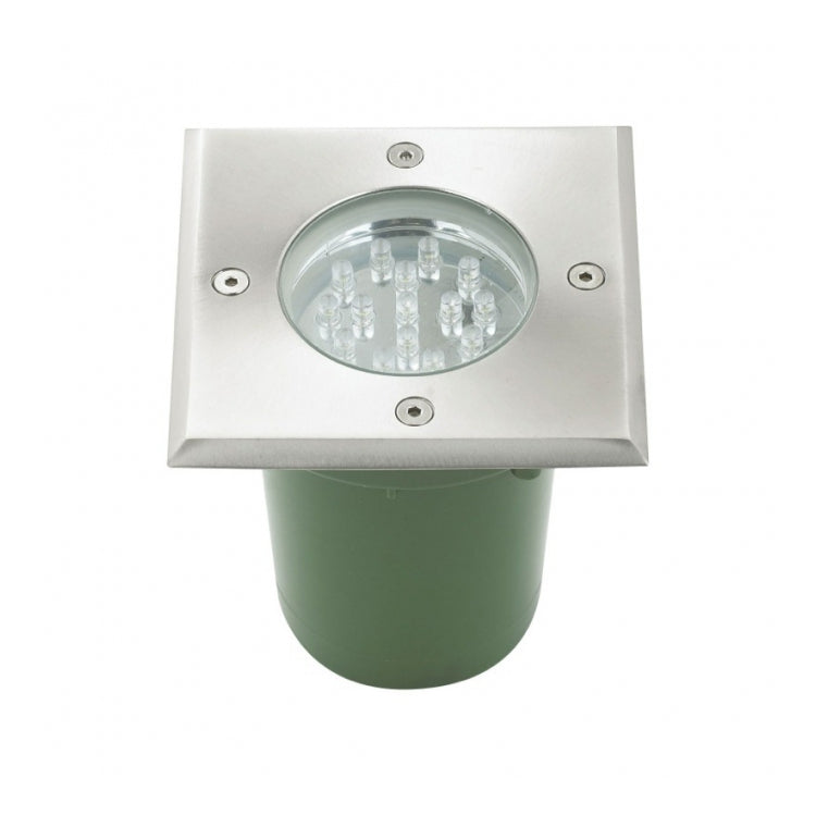 TUSCON IN GROUND SQUARE RECESSED LED FITTING - Lighting.co.za