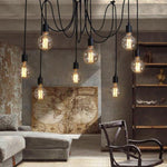 Spider 10 Light Adjustable Cord Pendant Light - Lighting.co.za