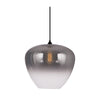 Mallorca Large Smoke Clear Ombre Glass Pendant Light - Lighting.co.za
