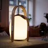 Mooni Ovo Mini Speaker Lantern With Wooden Handle - Lighting.co.za