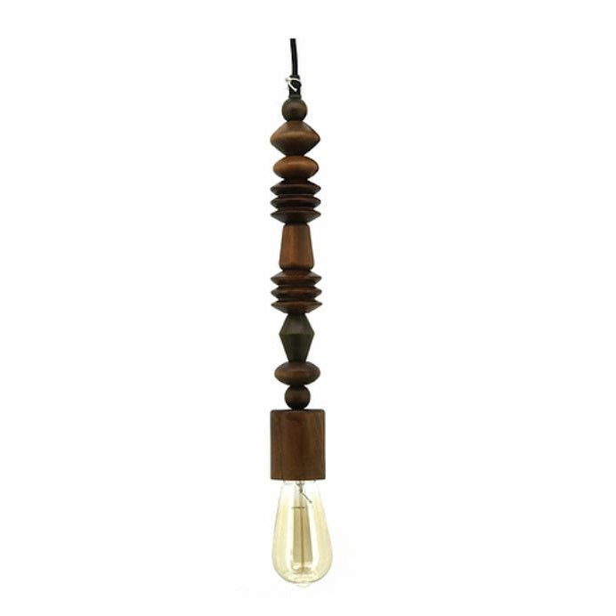 Ndele Cardinal Wooden Pendant Light - Lighting.co.za