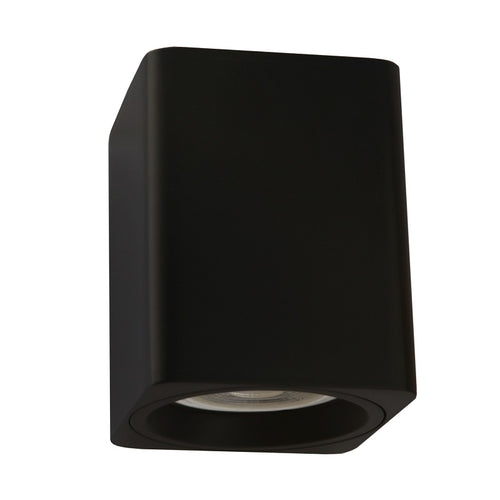 Neo Black or White Fixed Square GU10 Surface Mounted Down Light - Lighting.co.za