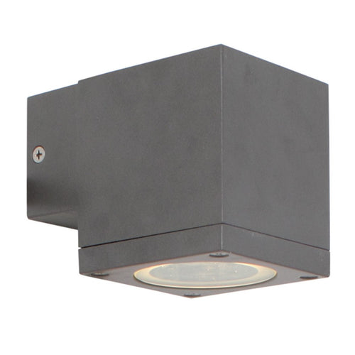 Kube GU10 Up or Down Only Outdoor Wall Light - Lighting.co.za