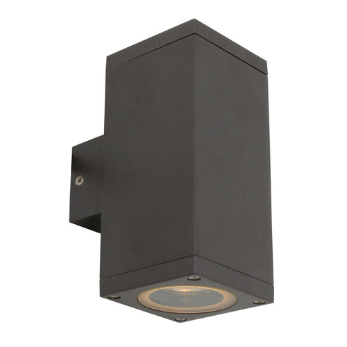 Kube GU10 Up And Down Outdoor Wall Light - Lighting.co.za