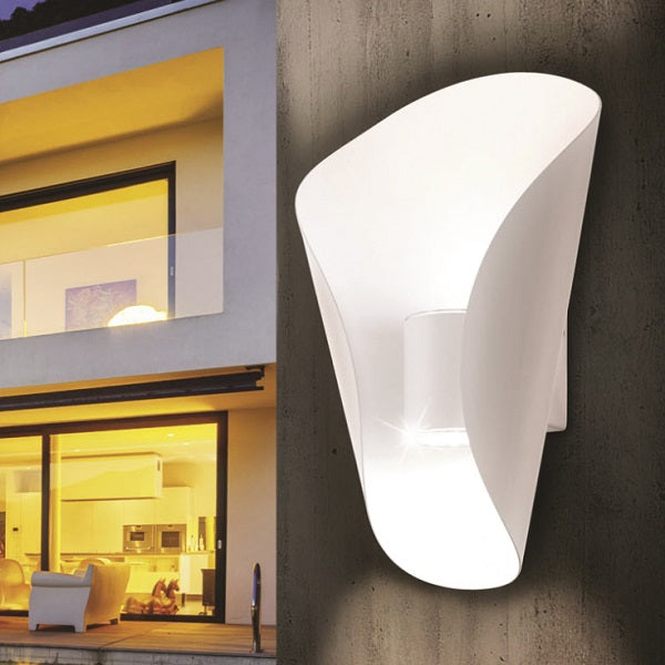 BOSARO OUTDOOR LED WHITE WALL LIGHT