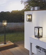 Alamonte Outdoor Black Bollard Light - Lighting.co.za