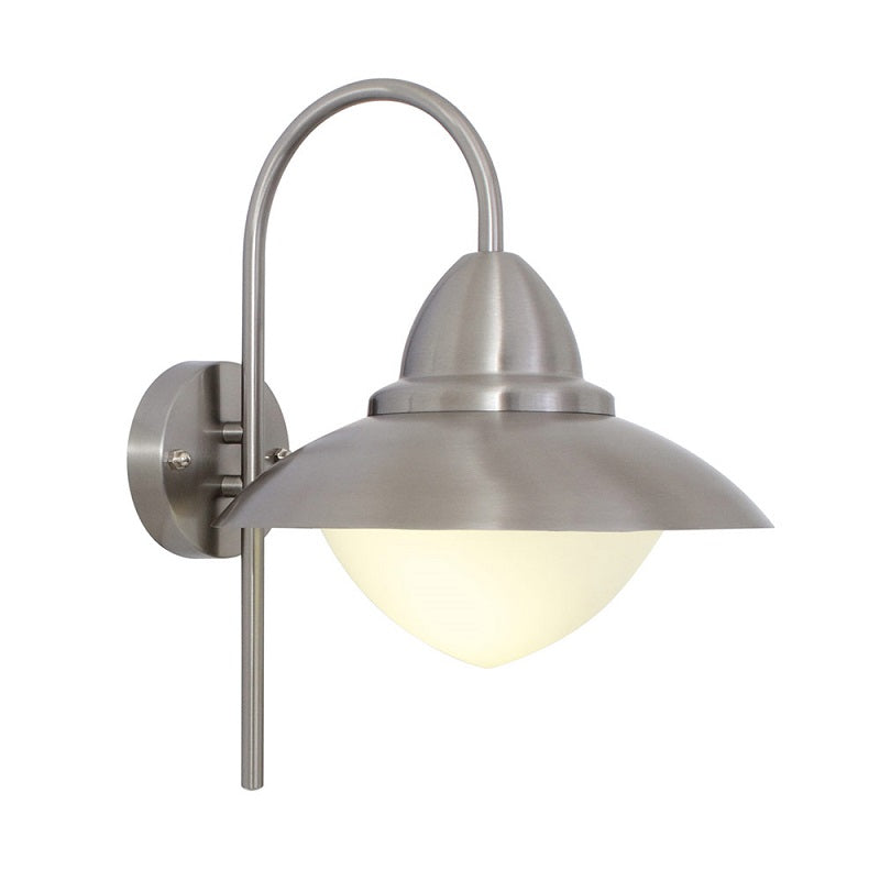 Sidney Stainless Steel Down Facing Outdoor Wall Light - Lighting.co.za