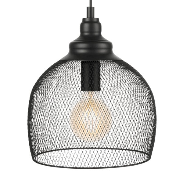Straiton Copper Or Black Mesh Pendant Light - Lighting.co.za