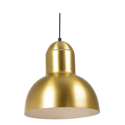 Maybac Gold Or Coffee Dome Pendant Light - Lighting.co.za