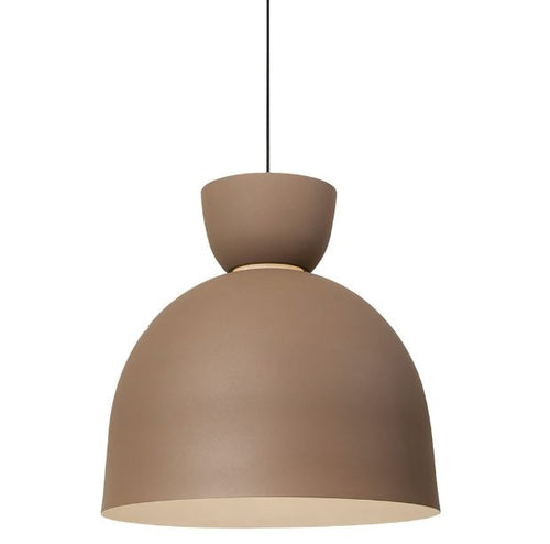 Maybac Double Dome Black Or Coffee Pendant Light - Lighting.co.za