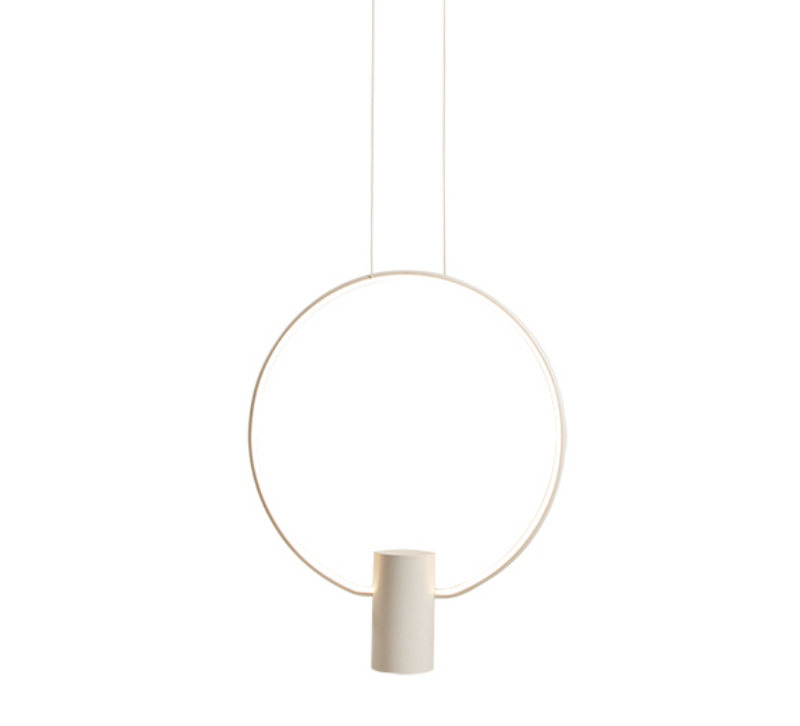 Sky Ring Black Or White LED Pendant Light 2 Sizes - Lighting.co.za
