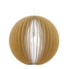 Cossano Ball Wooden Pendant Light 3 Sizes - Lighting.co.za
