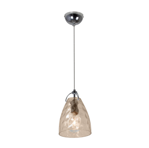 Budapest Bubble Clear Or Amber Glass Pendant Light - Lighting.co.za