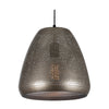 Mito Perforated Gold Dome Pendant Light - Lighting.co.za
