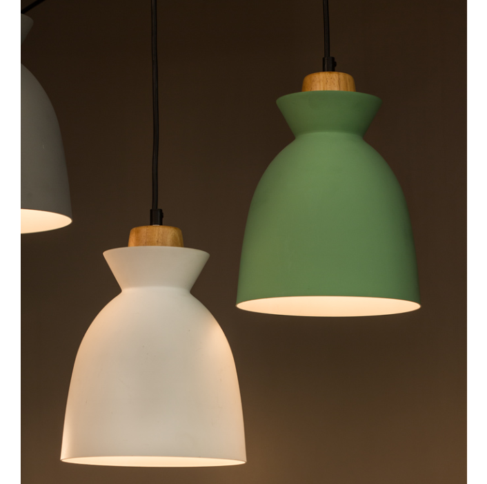 CHARLOTTE NORDIC WOOD AND STEEL 195 PENDANT - Lighting.co.za