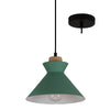 Charlotte Nordic Wood And Steel 250 Pendant Light - Lighting.co.za