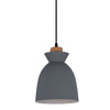 CHARLOTTE NORDIC WOOD AND STEEL 195 PENDANT