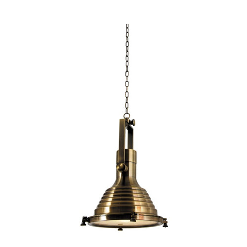 Bernard Large Bronze Industrial Metal Pendant Light - Lighting.co.za