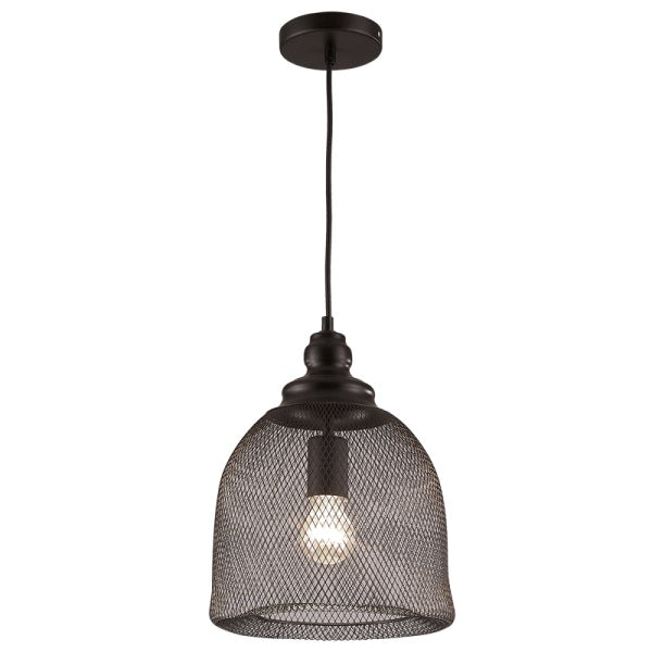 SAI BLACK MESH METAL PENDANT - Lighting.co.za