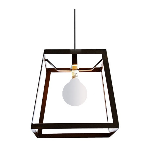 Hampton Open Flat Bar Lantern Pendant Light - Lighting.co.za