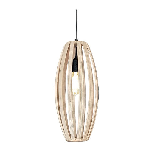 NATURAL BIRCH WOOD PAPI PENDANT LIGHT - Lighting.co.za