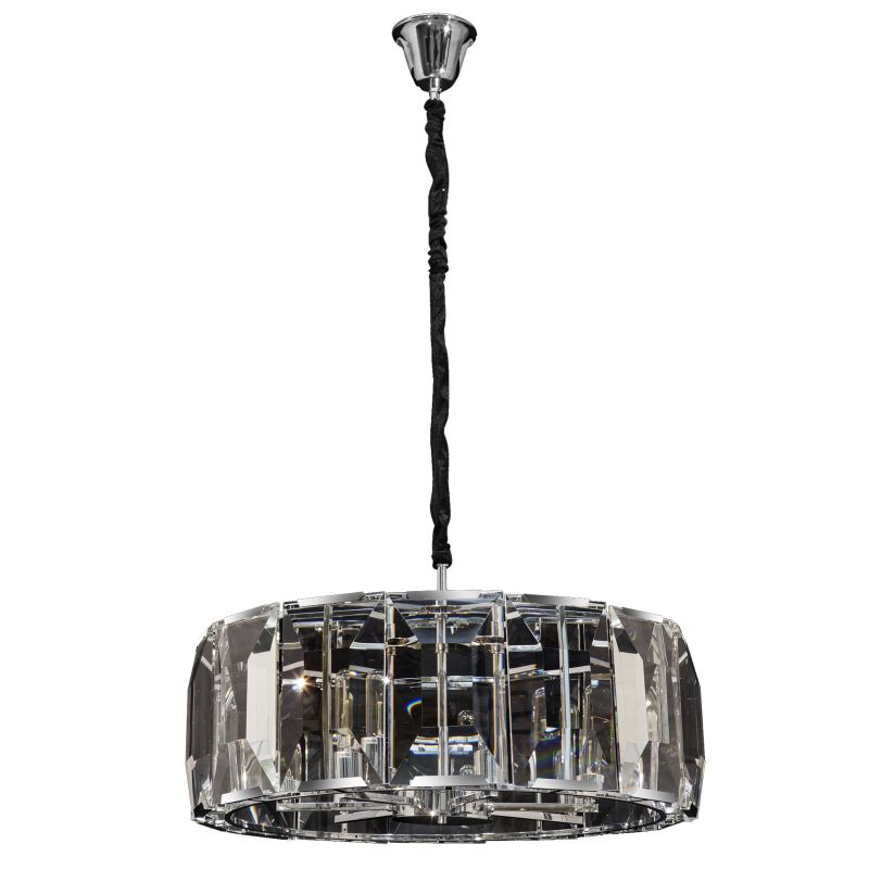 Mirage Round 4 | 7 Light Clear K9 Crystal Chandelier - Lighting.co.za