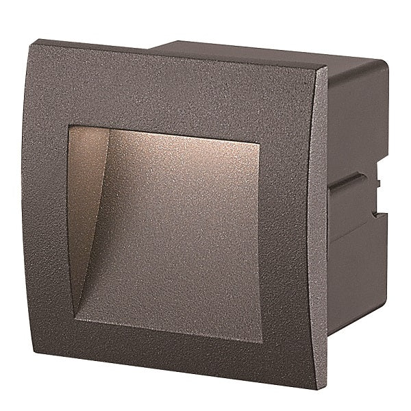LOUIS SMD LED SQUARE RECESSED OUTDOOR FOOT LIGHT 3000K 2 SIZES - Lighting.co.za
