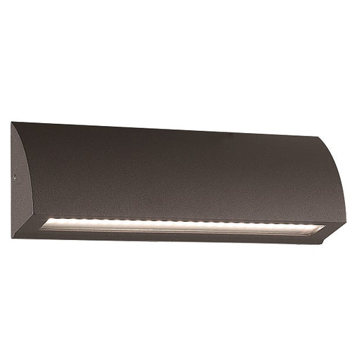 Proton LED Curved Rectangular Surface Mounted Foot Or Step Light 3 Sizes - Lighting.co.za