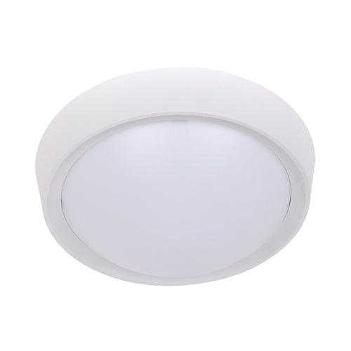 White Barkley Round Ceiling Light - Lighting.co.za