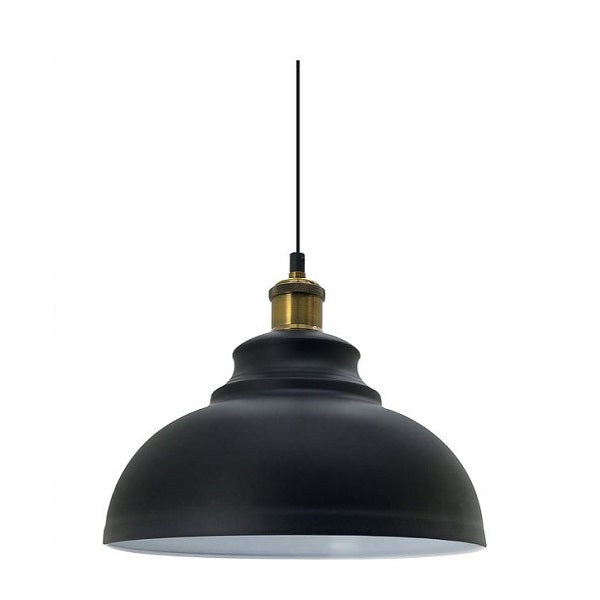 Royale Black and Gold Pendant Light - Lighting.co.za