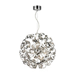 HELIX SPHERE 16 LIGHT CHROME PENDANT - Lighting.co.za