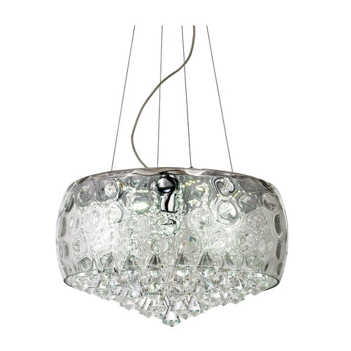 Alima Clear Crystal Glass Chandelier - Lighting.co.za