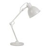 Ortez Brass Or White Adjustable Desk Lamp - Lighting.co.za