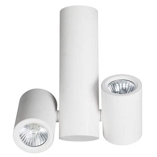 NEWPORT 2L ADJUSTABLE GU10 SURFACE MOUNT SPOTLIGHT - Lighting.co.za