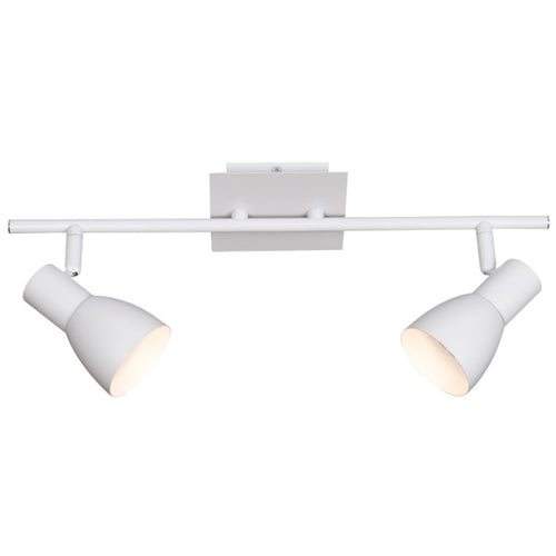 URBAN MATT WHITE GU10 2L SPOTLIGHT - Lighting.co.za