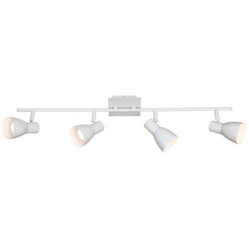 URBAN MATT WHITE GU10 4L SPOTLIGHT - Lighting.co.za