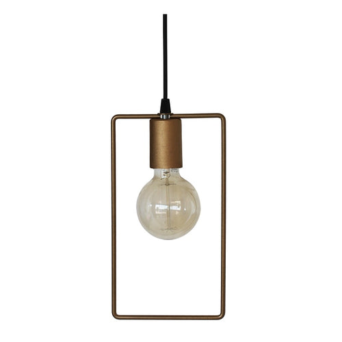 Code Open Rectangular Pendant Light - Lighting.co.za