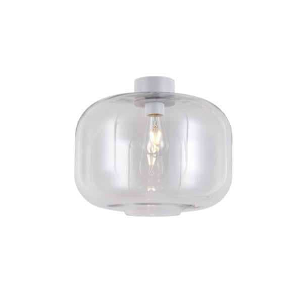 Lighthouse Large Smoke | Clear | Amber Glass Ceiling Light - Lighting.co.za