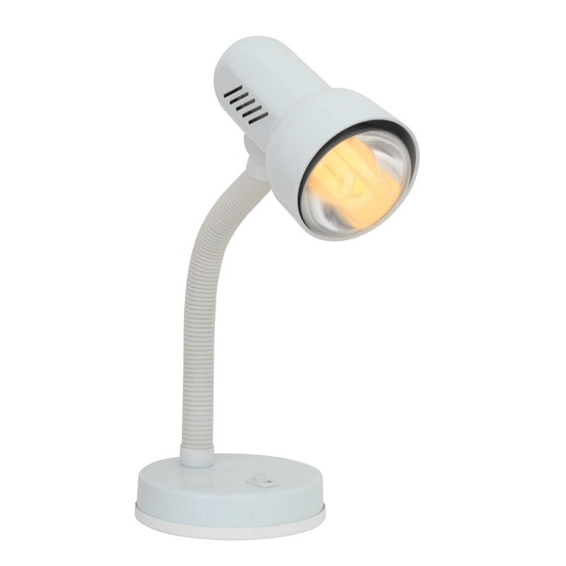 Hermias Turbo Black or White Desk Lamp - Lighting.co.za